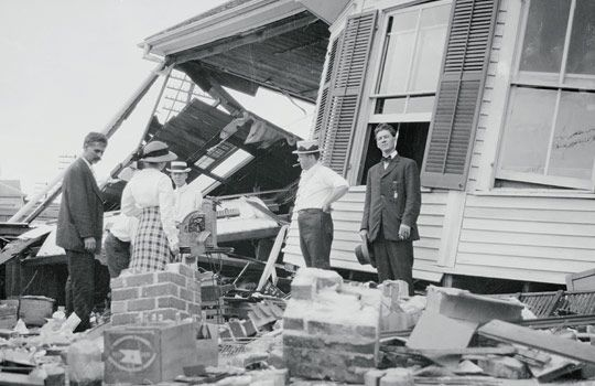 Galveston 1915 hurricane
